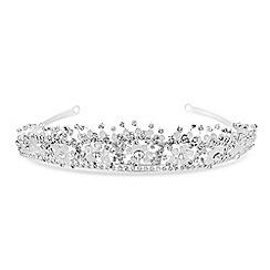 Jon Richard - Floral beaded tiara