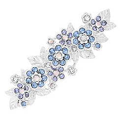 Jon Richard - Flower hair clip created with Swarovski crystals