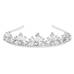 Jon Richard - Floral diamante beaded tiara