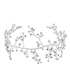 Jon Richard - Pixie crystal sprig hair vine