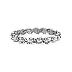 Jon Richard - Silver crystal navette bracelet