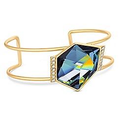Jon Richard - Faceted crystal bangle created with Swarovski crystals