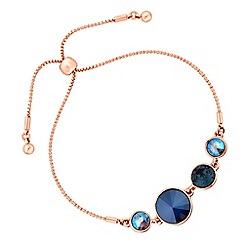 Jon Richard - Graduated circle bracelet created with Swarovski crystals