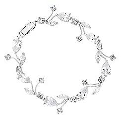 Jon Richard - Butterfly cubic zirconia bracelet