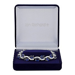 Jon Richard - Cubic zirconia wave bracelet