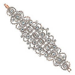 Jon Richard - Statement ornate diamante bracelet