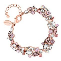 Jon Richard - Blush crystal cluster bracelet