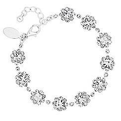 Jon Richard - Diamante floral bracelet