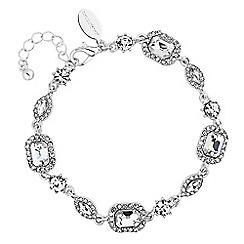 Jon Richard - Crystal baguette bracelet