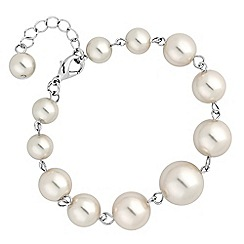 Jon Richard - Graduated pearl bracelet