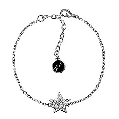 Karl Lagerfeld - Pave star bracelet created with Swarovski crystals