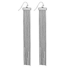 Lipsy - Slinky chain earrings