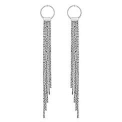 Lipsy - Crystal diamante fringed earrings