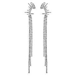 Lipsy - Crystal diamante ear cuff set