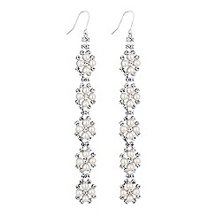 Lipsy - Pearl linear drop earrings