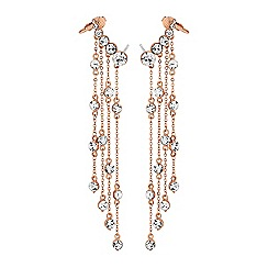 Lipsy - Crystal fringe ear cuff set