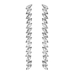 Lipsy - Navette Crystal Drop earrings