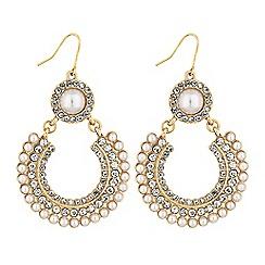 Lipsy - Pearl braid drop earrings