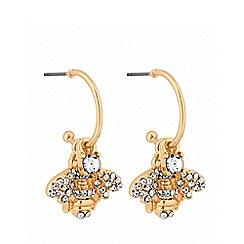 Lipsy - Bug on hoop earrings