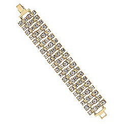 Lipsy - Crystal statement bracelet