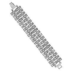 Lipsy - Crystal statement bracelet
