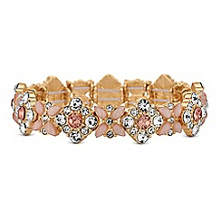 Lipsy - Floral crystal bracelet