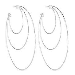 Mood - Layered hoop earrings