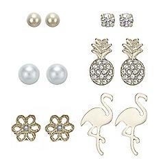 Mood - Flamingo stud earrings set