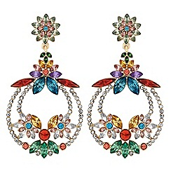 Mood - Crystal statement earrings