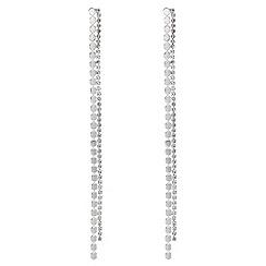 Mood - Diamante drop earrings