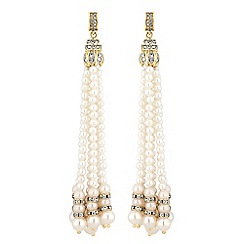 Mood - Pearl multi droplet earrings