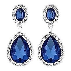 Mood - Crystal teardrop earrings