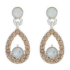 Mood - Pave peardrop earrings