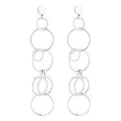 Mood - Circle link drop earrings