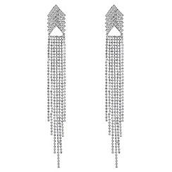 Mood - Diamante chandelier earrings
