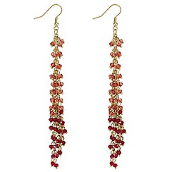 Mood - Beaded multi strand earrings
