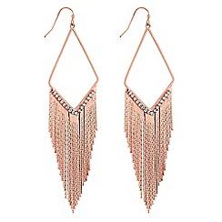 Mood - Open chain drop earrings