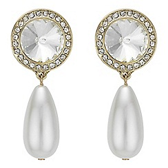 Mood - Pearl droplet earrings