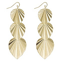 Mood - Leaf drop earrings