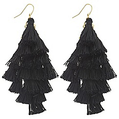 Mood - Layered tassel earrings