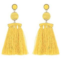 Mood - Tassel drop earrings