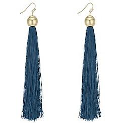 Mood - Statement shoulder duster tassel earrings