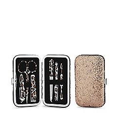 Mood - Gold glitter manicure set