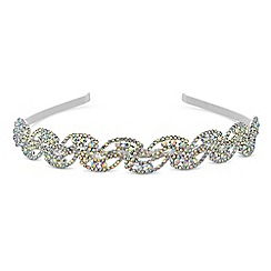 Mood - Aurora borealis crystal headband