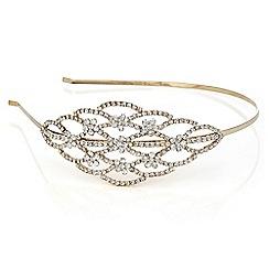 Mood - Crystal open side headband