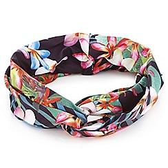 Mood - Floral print bandeau headband
