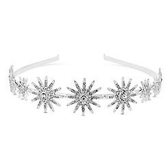 Mood - Silver crystal encrusted headband