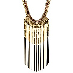 Mood - Tassel statement necklace