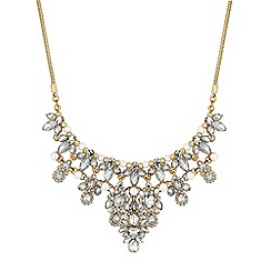 Mood - Crystal cluster ornate necklace