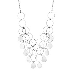 Mood - Multi circle statement necklace